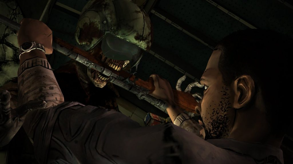 Artistry in Games WD-1024x576 New Screenshot For The Walking Dead Shows How Awesome The Episode Will Look Opinion  the walking dead season two the walking dead season one TellTale tales from the borderlands jurassic park a house divided