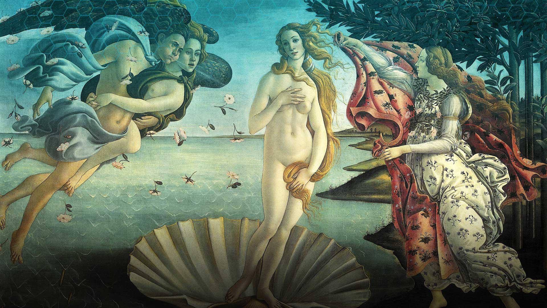 Birth of Venus by Boticelli