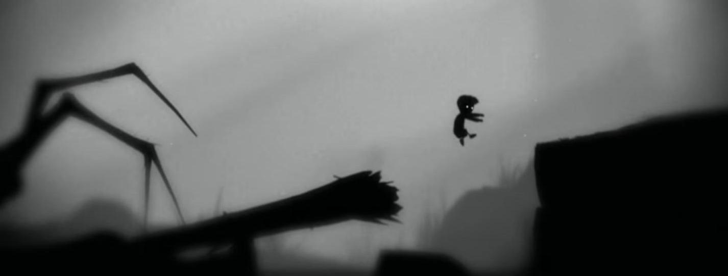 Artistry in Games spider-1 Defining Moments In Games: Limbo - That F@#*ing Spider! Series  Playdead Limbo Indie Games Defining Moments