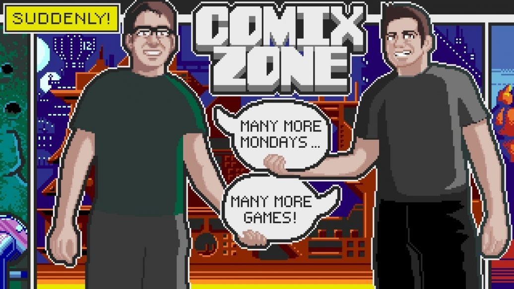Artistry in Games Comix-Zone-Sega-Genesis-James-Mike-Mondays-1036x583 Comix Zone (Sega Genesis) James & Mike Mondays News  zone Spiderman Sega Technical Institute sega genesis sega playthrough Mike Genesis Gameplay comix zone walkthrough comix zone sega genesis comix zone playthrough Comix Zone Guide comix zone gameplay Comix Zone AVGN comix zone comix Comics Zone Comics Comic Book cinemassacre Beat 'em up Batman: The Caped Crusader batman avgn arcade 1995