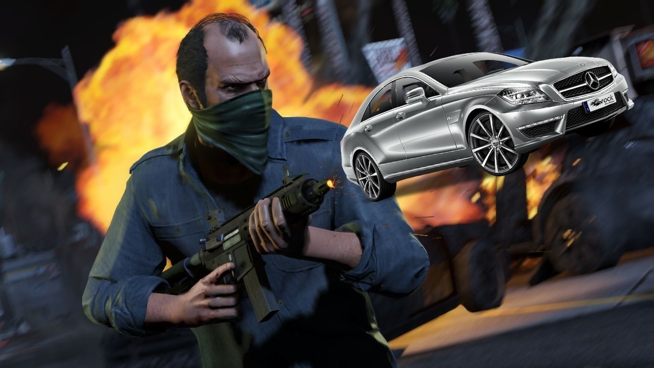 grand theft auto 5 shooting cars out of guns