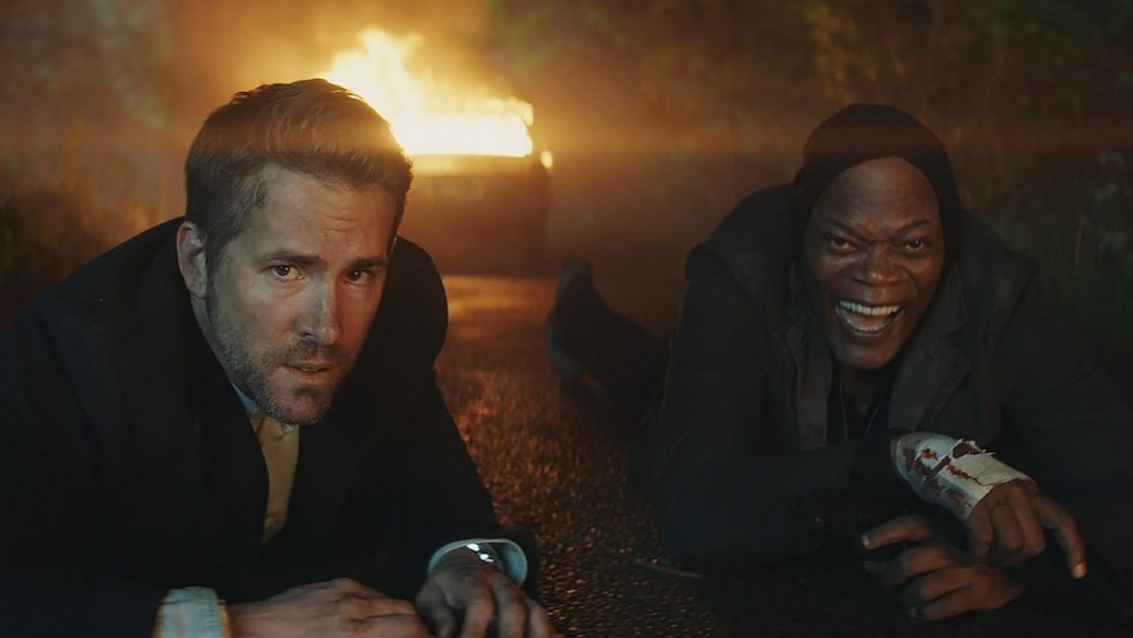 Artistry in Games The-Hitmans-Bodyguard-2017-Redband-Trailer-1036x583 The Hitman's Bodyguard (2017) - Redband Trailer News  trailer The Hitman's Bodyguard the bodyguard Skydance Productions samuel l. jackson sam jackson Salma Hayek ryan reynolds redband movie Millennium Films Lionsgate IGN gary oldman Elodie Yung Action Comedy