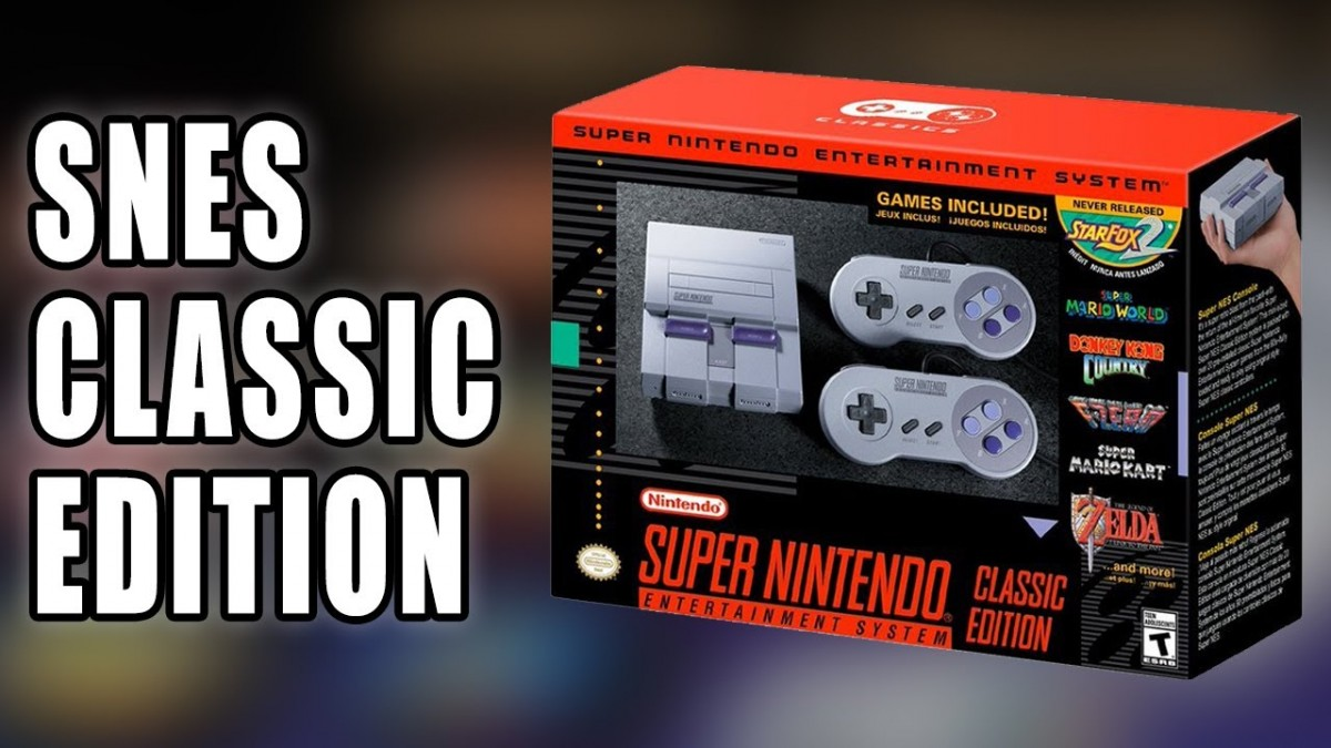 snes classic edition aka super nes mini announced by nintendo talk about games. Black Bedroom Furniture Sets. Home Design Ideas