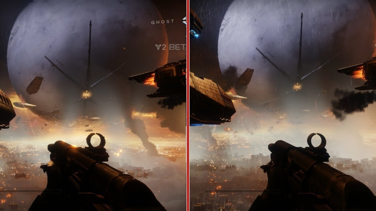 destiny 2 beta graphics comparison xbox one vs ps4. Black Bedroom Furniture Sets. Home Design Ideas