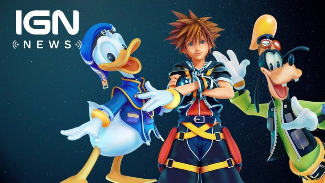 Artistry in Games KINGDOM-HEARTS-3-COMING-IN-2018-IGN-News-1036x583 KINGDOM HEARTS 3 COMING IN 2018 - IGN News News  Xbox Scorpio Xbox One videos games Nintendo Kingdom Hearts III IGN News IGN gaming games feature Breaking news #ps4