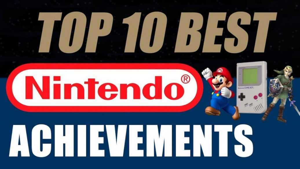 Artistry in Games Top-10-Best-Nintendo-Achievements-Talk-About-Games-1036x583 Top 10 Best Nintendo Achievements - Talk About Games News  Zelda Wii Wavebird video games video game (industry) top 5 Top 10 Best Nintendo Achievements top 10 super smash bros. super mario Smash Bros Shigeru Miyamoto rank Nintendo Power Nintendo Game Boy nintendo entertainment system Nintendo NES Mike Matei Mike metroid Mario list Legend of Zelda Gaming Industry gaming games Gameplay GameCube Game Boy dpad D-Pad Couch Co-Op Cinemassacre Top 10 cinemassacre best avgn angry video game nerd Achievement 3DS