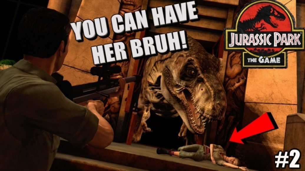 """Artistry in Games FUNNY-JURASSIC-PARK-THE-GAME-TELLTALE-GAMEPLAY-2-1036x583 FUNNY """"JURASSIC PARK, THE GAME"""" TELLTALE GAMEPLAY #2 News  xbox one gaming let's play jurassic park the game telltale itsreal85 gaming channel gameplay walkthrough"""