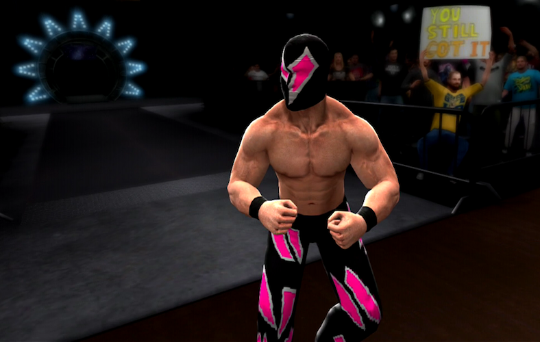 Artistry in Games sahrd USERGENERATION: Alex Dean Series  WWE wrestling usergeneration Jigsaw CHIKARA character creation caw