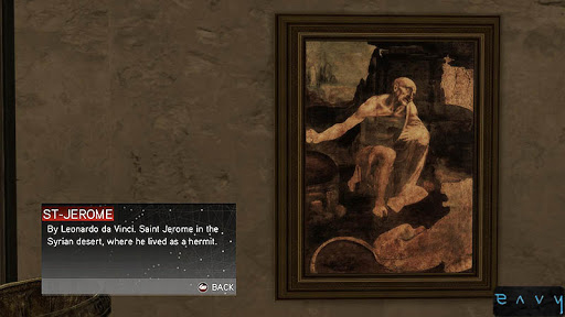 Artistry in Games assassinscreedII_stjeromeinthewilderness_davinci Gallery of the Unseen: The Historic Use of Art in Gaming Features  graphics Game Art design