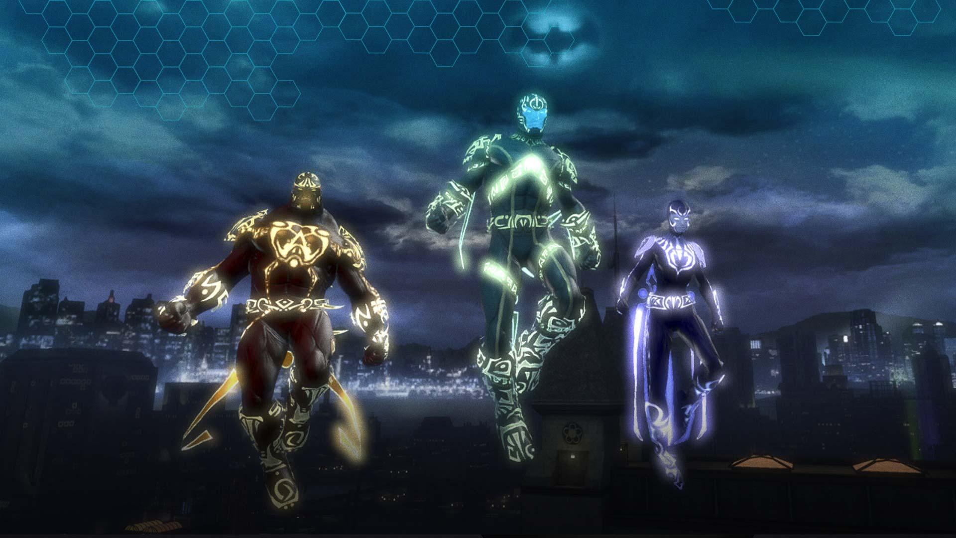 DC Universe Online - Flying Heroes