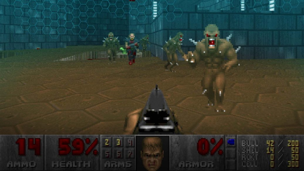Artistry in Games doom-map-1036x583 USERGENERATION: Samuel Villarreal Series  usergeneration TimeGate Studios Quake QOOLE level design Game design featured doom