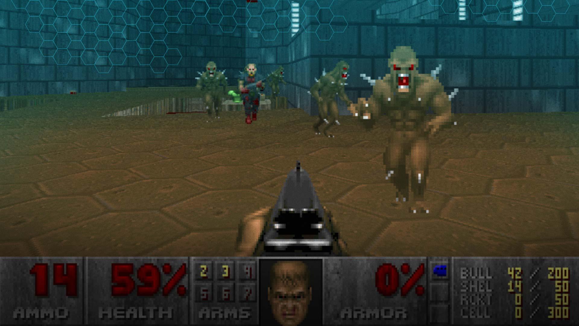 Doom Map Screenshot