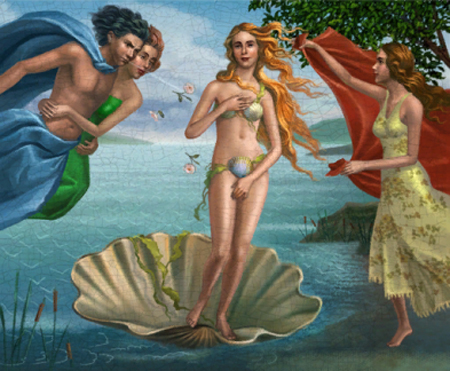 Artistry in Games sims3_birthofvenus_sandrobotticelli Gallery of the Unseen: The Historic Use of Art in Gaming Features  graphics Game Art design