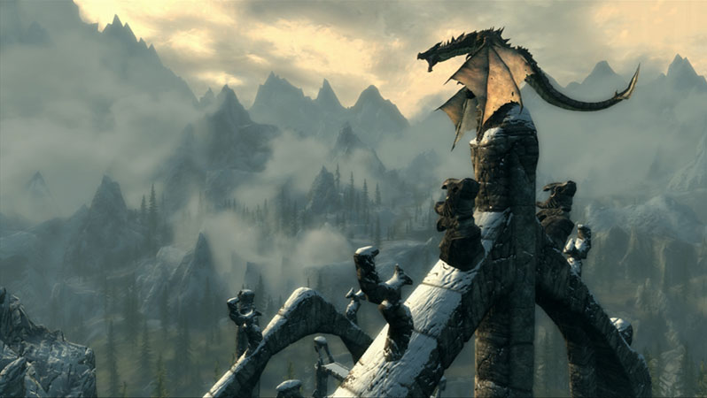 Artistry in Games skyrim-dragon-cathedral Skyrim Ascends to Classical Greats  News  The Elder Scrolls V: Skyrim Skyrim Nobuo Uematsu Jeremy Soule Howard Shore Hans Zimmer