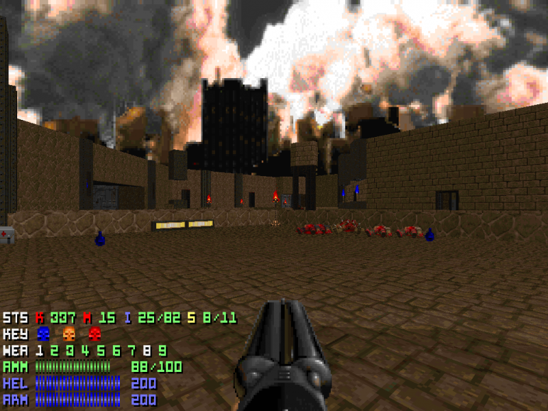 Artistry in Games villarreal_1 USERGENERATION: Samuel Villarreal Series  usergeneration TimeGate Studios Quake QOOLE level design Game design featured doom