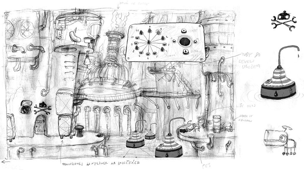 Artistry in Games artwork_05 The Art of Machinarium Features