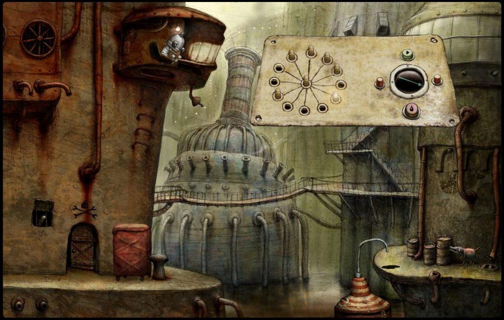 Artistry in Games machinarium-game-1-1036x657 The Art of Machinarium Features