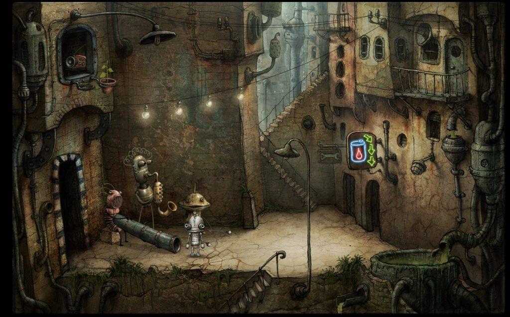 Artistry in Games machinarium-game-2-1024x636 The Art of Machinarium Features