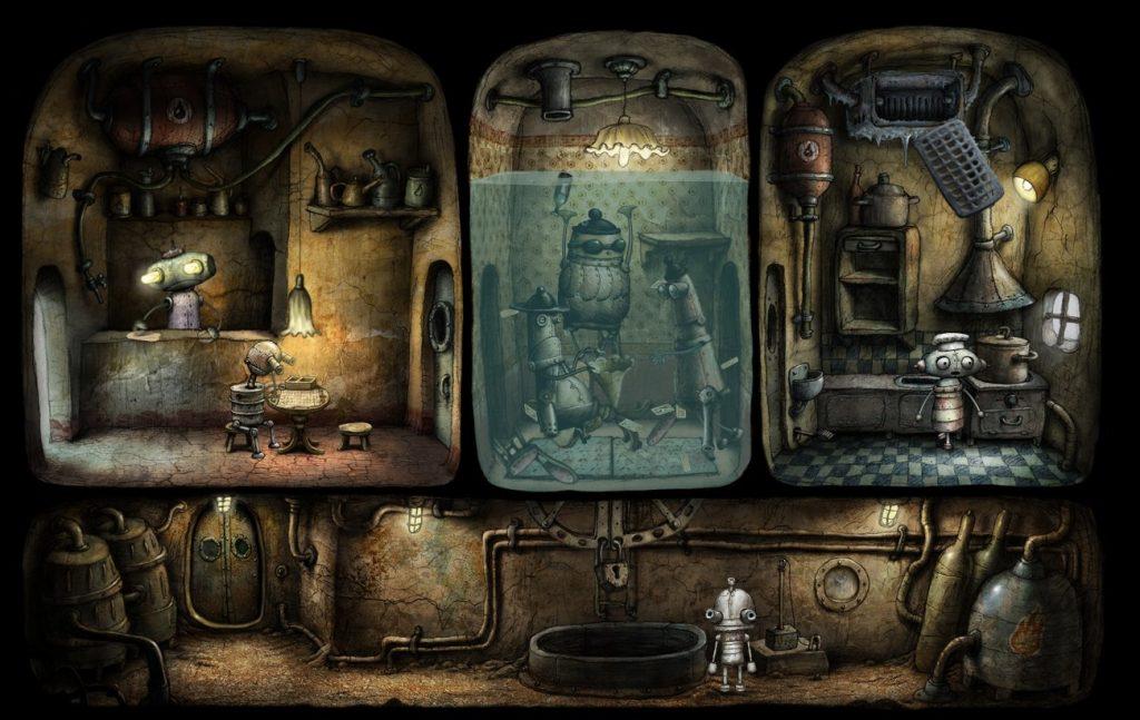 Artistry in Games machinarium-game-5-1024x647 The Art of Machinarium Features