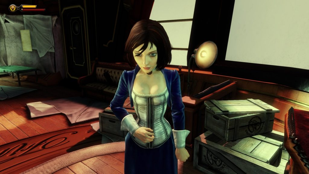 Artistry in Games BioShock-Infinite-Elizabeth3-1024x576 The Women that Gaming got Right: Bioshock Infinite's Elizabeth Series  Women In Gaming games feminism Bioshock Infinite Anita Sarkeesian