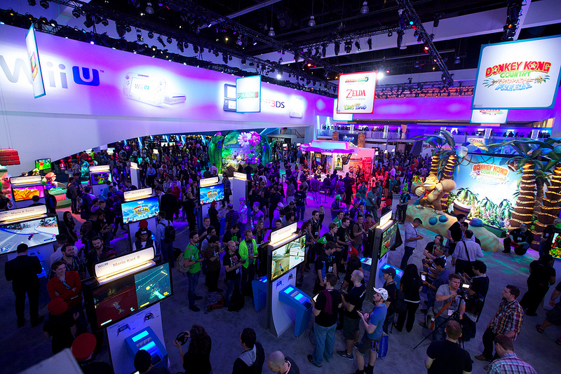 Artistry in Games E3expo The Power of Spectacle - A Simple Man's Analysis of E3 Opinion  Sony Nintendo Microsoft electronic entertainment expo e3