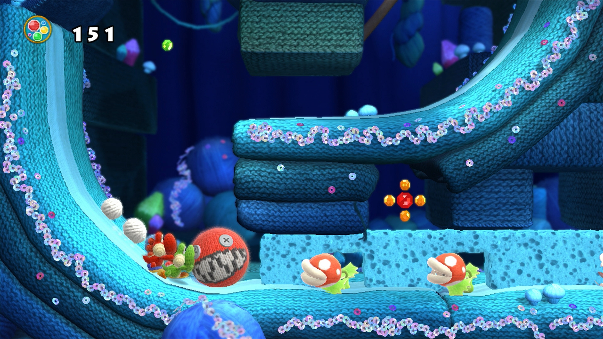 Artistry in Games WiiU_Yoshi_sWW_scrn07_E3 E3 - Reintroducing Gamers To Colors Features  e3 Colors In Art
