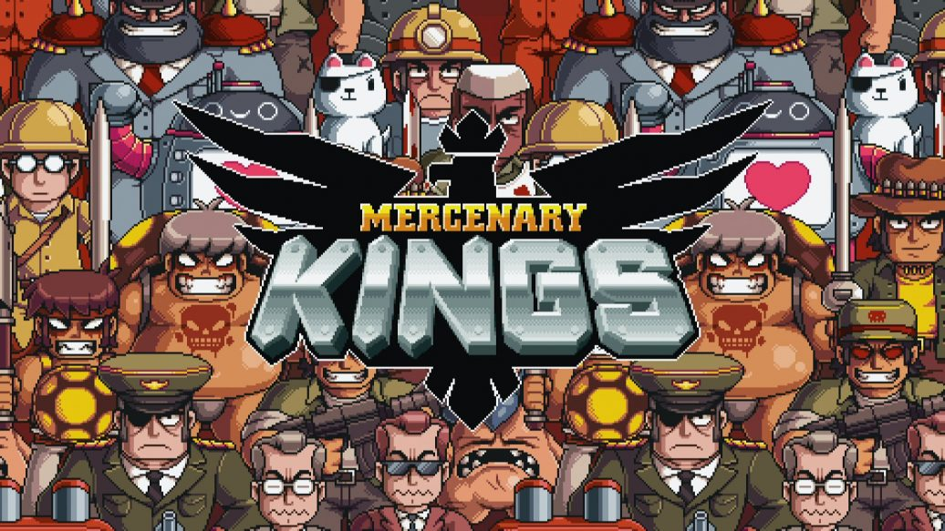 Artistry in Games mercenary-kings-logo-1036x583 Tribute Games Interview - Gaming's Ultimate Cover Band Interviews  wizorb tribute games Nintendo metal slug mercenary kings