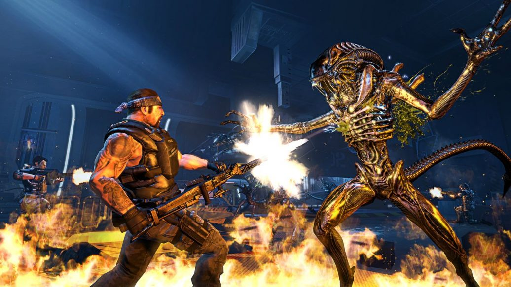 Artistry in Games Aliens-Colonial-Marines-Multiplayer-screen-3-1036x583 Still Alive! Aliens: Colonial Marines Series  Versus Timegate Time Syndicate still Space Sony PS3 Playstation PC Nosgoth multiplayer Mods Modders Modder Mod Marines in Hunt Gearbox Gate games dead Cooperative coop Colonial Co-operative Co-op campaign Bugs Bug Alive? Artistry alive Aliens Alien 3 2 ?