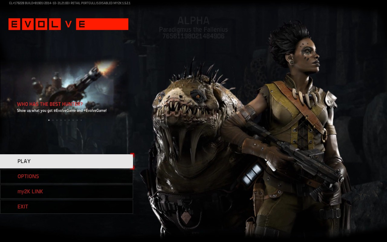 "Artistry in Games 2014-11-01_00001 Evolve ""Big Alpha"" PC Preview Amazon Opinion  XBox Turtlerock Turtle TPS Test Take2 Stealth Rock Preview Pretentious Playstation PC One multiplayer monster Look Kraken in Hunters Hunter Goliath games game FPS first evolve Competitive Big Beta Artistry Action 4 2K #ps4"