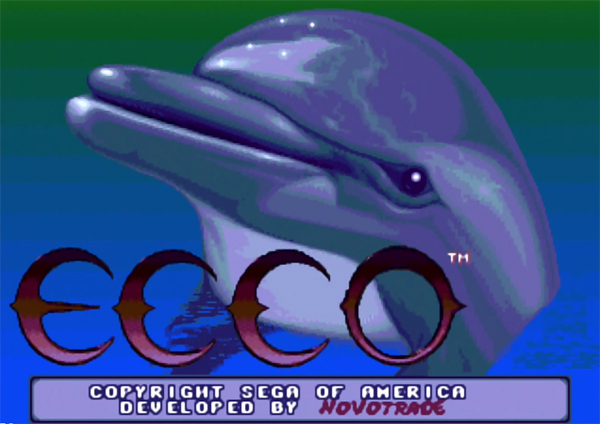 Artistry in Games ecco-the-dolphin_01 Earth to Ecco: Eco-Friendly Games for Earth Month Features  tilt world green gaming final fantasy VII fate of the world environmental eco-friendly ecco the dolphin a new beginning