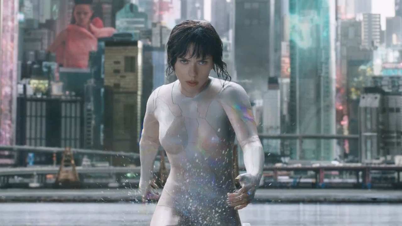 "Ghost In The Shell (2017) ""Water Fight"" Clip"