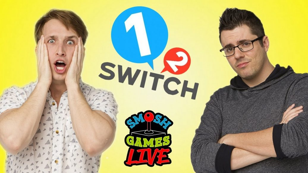 Artistry in Games 1-2-SWITCH-OR-DARE-LIVE-Smosh-Games-Live-1036x583 1-2 SWITCH OR DARE LIVE! (Smosh Games Live) Reviews  truth or dare switch review switch nintendo switch smosh games live Smosh Games smosh party games nintendo switch review nintendo switch live nintendo switch games nintendo switch gameplay Nintendo Switch Nintendo new games new console mini games live gaming live Gameplay game bang