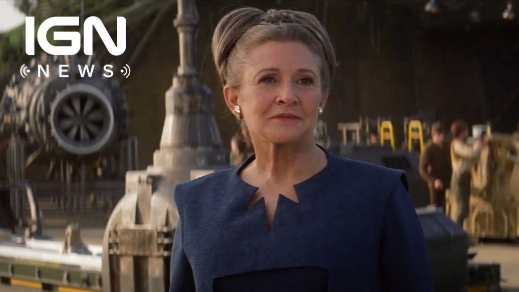 Artistry in Games Leias-Carrie-Fisher-Is-Not-in-Star-Wars-Episode-9-IGN-News-1036x583 Leia's Carrie Fisher Is Not in Star Wars: Episode 9 - IGN News News  star wars episode ix star wars celebration people news movie IGN News IGN feature Carrie Fisher Breaking news
