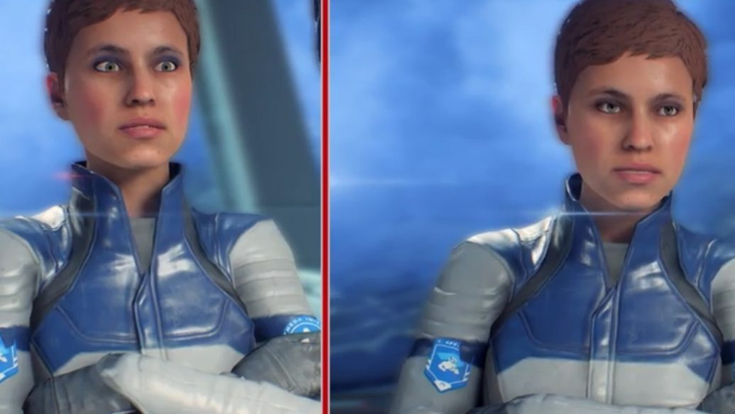 Artistry in Games Mass-Effect-Andromeda-Original-vs.-Update-1.05-1036x583 Mass Effect: Andromeda - Original vs. Update 1.05 News  Xbox One RPG PC Mass Effect: Andromeda IGN Gameplay Electronic Arts bioware #ps4