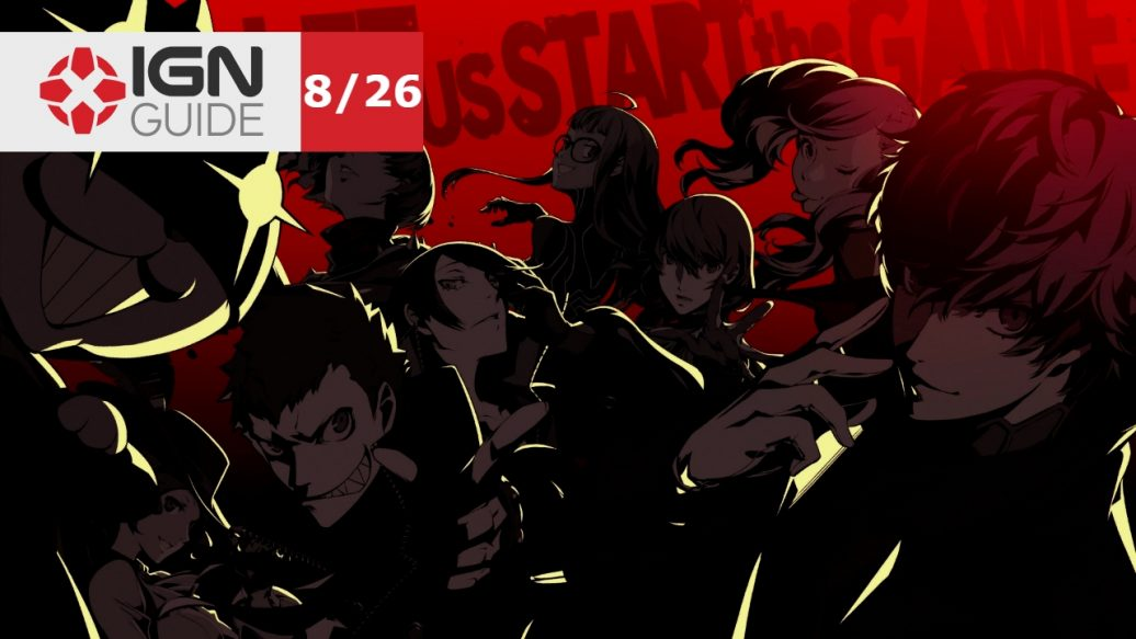 Artistry in Games Persona-5-Walkthrough-Story-Mission-1026-22-1036x583 Persona 5 Walkthrough - Story Mission: 10/26 (2/2) News  sega RPG PS3 persona 5 P-Studio IGN Guide games atlus #ps4