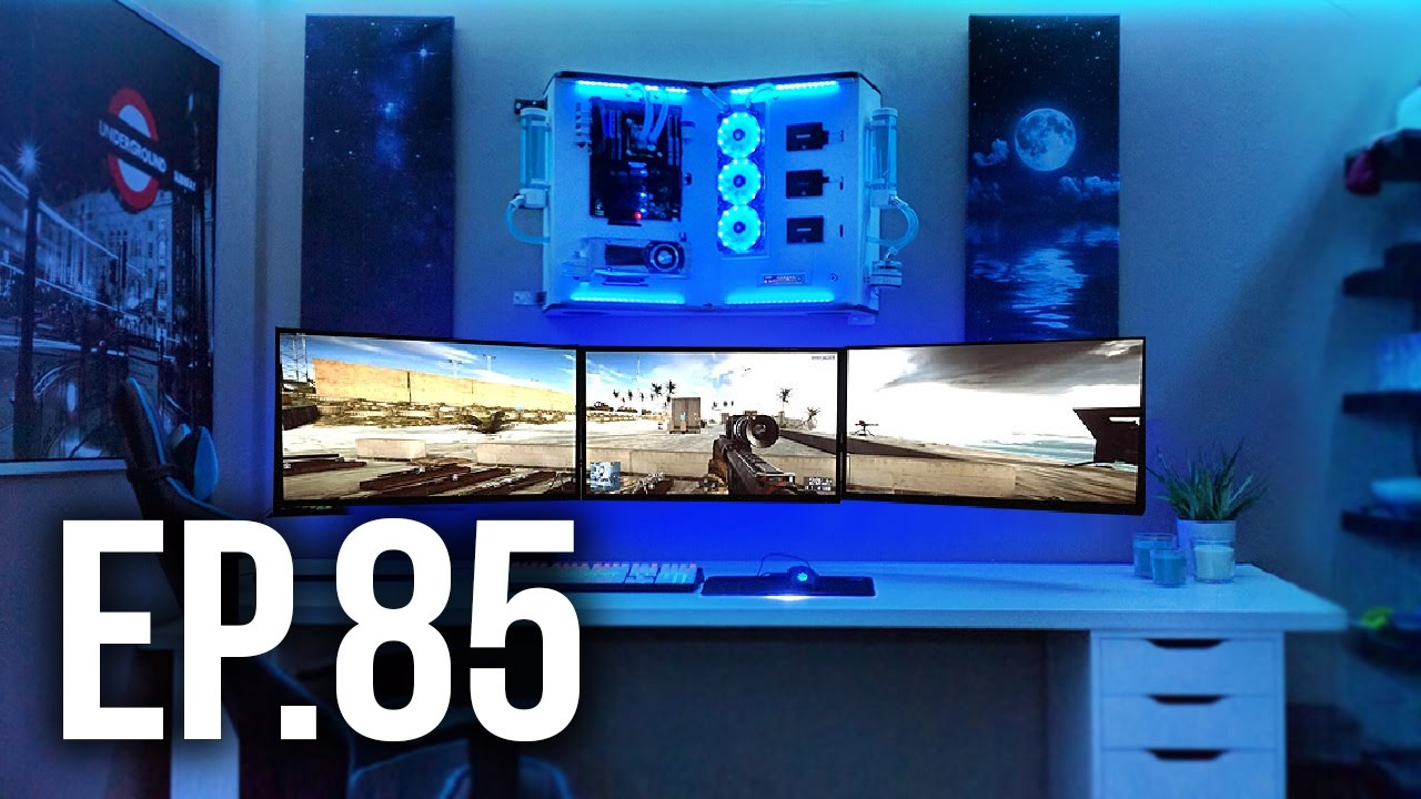 Room Tour Project 85 Best Gaming Setups Ft Mrwhosetheboss