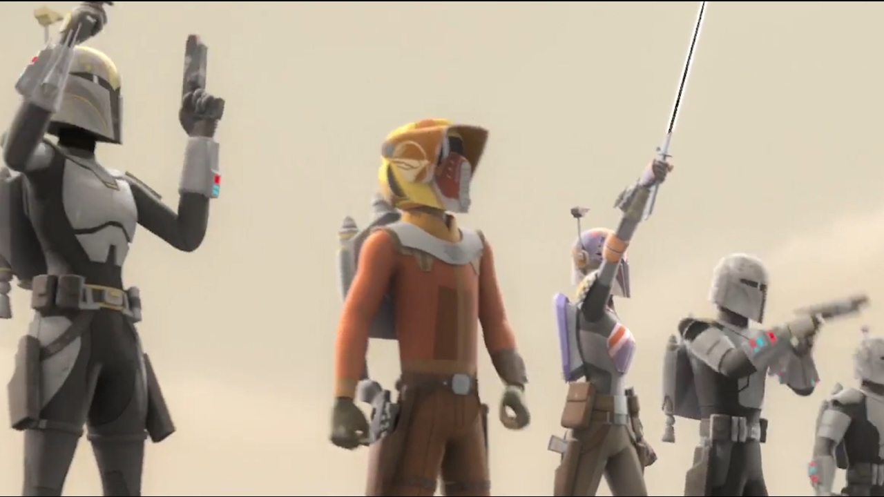 Star Wars Toys 2017 : Star wars rebels season begins with a dark and powerful