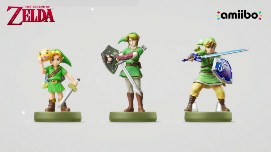 Artistry in Games Three-New-Legend-of-Zelda-Amiibo-Announced-1036x583 Three New Legend of Zelda Amiibo Announced News  trailer IGN