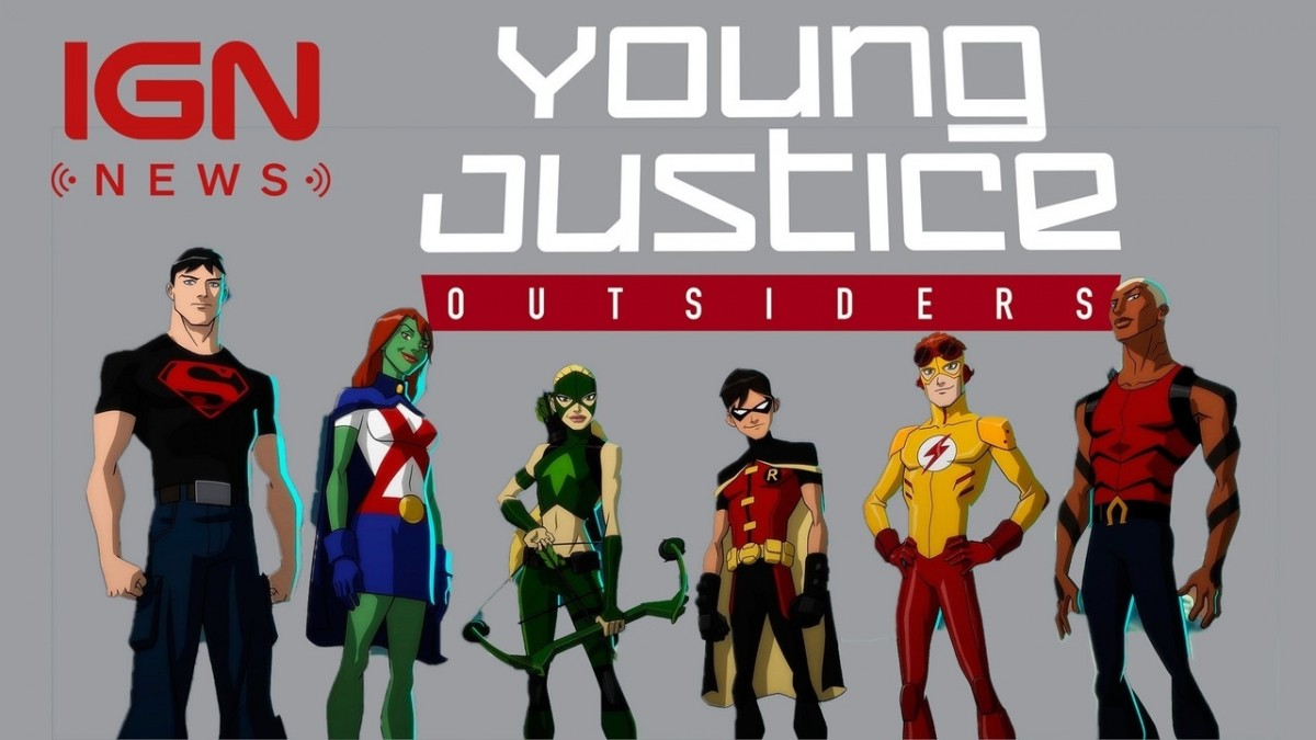 Young Justice Season 3 to Debut in 2018 - IGN News