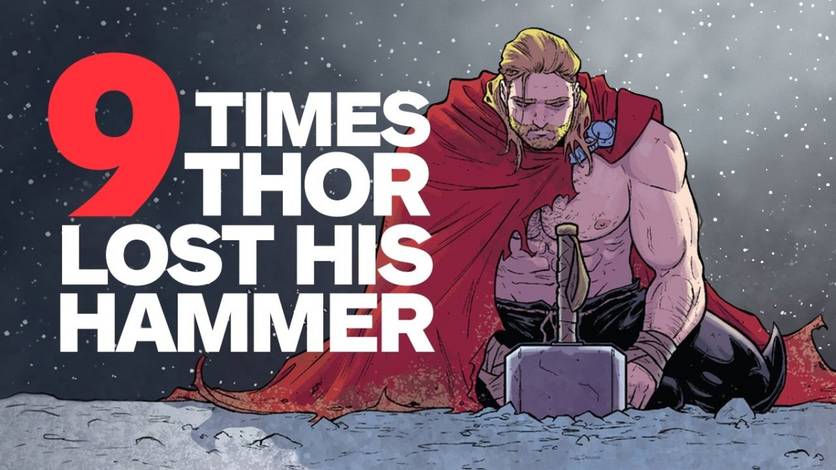9 times thor lost his hammer mjolnir artistry in games