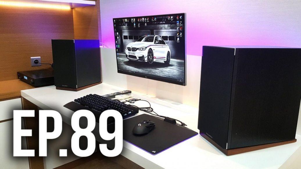 room tour project 89 single monitor gaming setups artistry in games. Black Bedroom Furniture Sets. Home Design Ideas