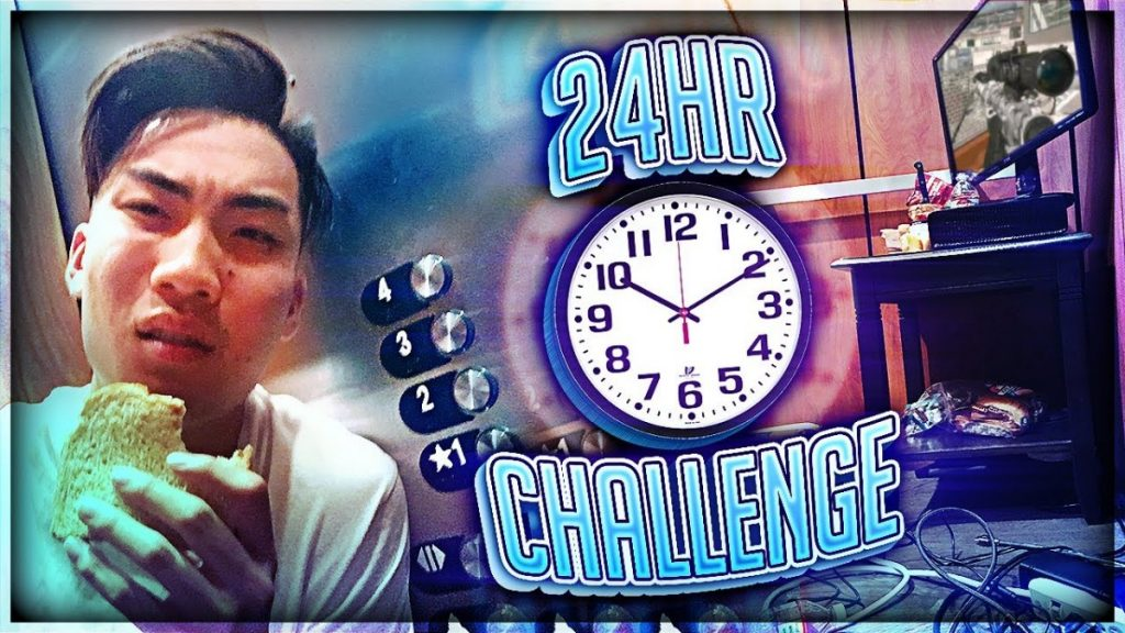 STUCK IN ELEVATOR FOR 24 HOURS CHALLENGE *ALMOST DIED