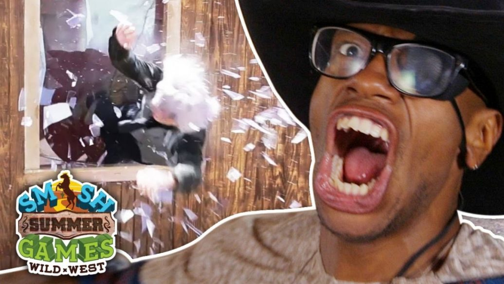 Artistry in Games BAR-FIGHT-BLOOPERS-Smosh-Summer-Games-1036x583 BAR FIGHT BLOOPERS (Smosh Summer Games) Reviews  wild west summer games 2017 summer games stunts smosh summer games Smosh Games smosh bts smosh 2nd smosh outtakes ian hecox funny outtakes funny bloopers funny deleted scenes comedy BTS bloopers bar fight