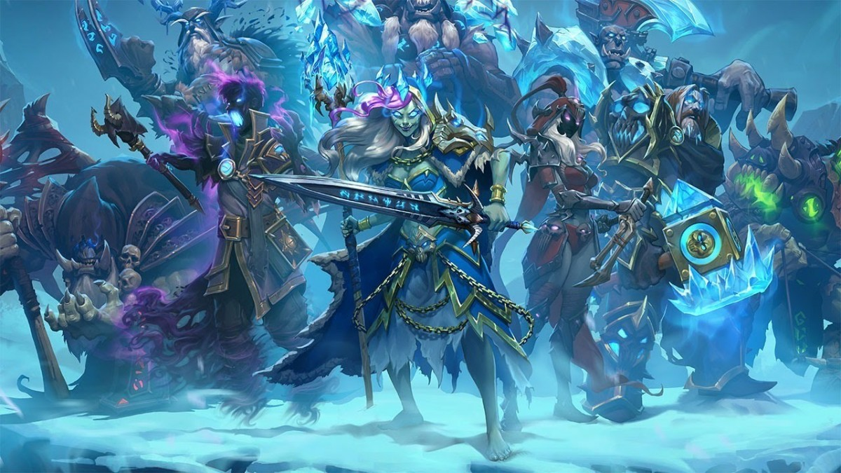 Knights Of The Frozen Throne Wallpaper: Hearthstone: Knights Of The Frozen Throne Announcement