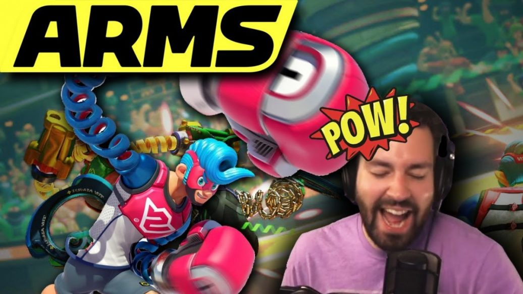 Artistry in Games Im-A-Robot-Who-Feels-Nothing...But-Rage.-ARMS-1036x583 I'm A Robot Who Feels Nothing...But Rage. (ARMS) News  Video Two silly rage punch part Online Nintendo multiplayer mexican live gassymexican gassy gaming games Gameplay game funny eatmydiction1 Commentary Boxing Arms