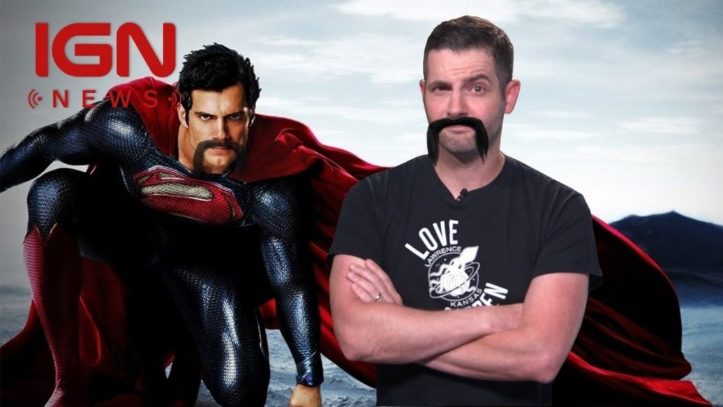 Justice League Scheduling Mustache Causing Headaches For Reshoots Ign News