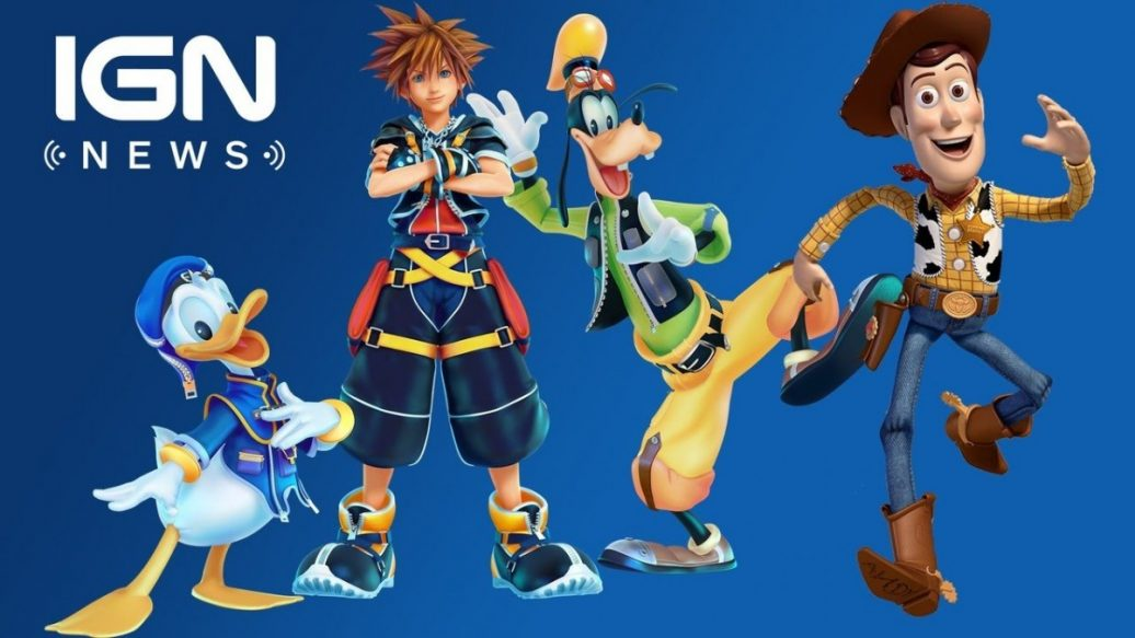 Kingdom Hearts 3 Toy Story Announced As New World Ign News