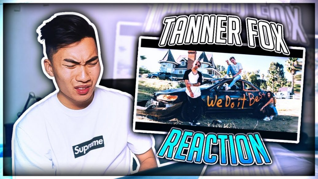REACTING TO TANNER FOX'S NEW SONG (HE ROASTED ME