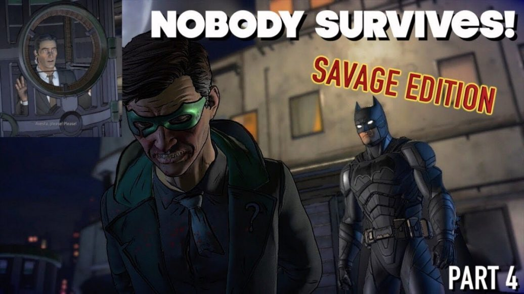 "Artistry in Games NOBODY-SURVIVES-FUNNY-BATMAN-THE-EMEMY-WITHINSAVAGE-EDITION-4-1036x583 NOBODY SURVIVES! ( FUNNY BATMAN, THE EMEMY WITHIN""SAVAGE EDITION"" #4) News  Xbox One walkthrough let's play itsreal85gaming channel Gameplay funny gameplay"