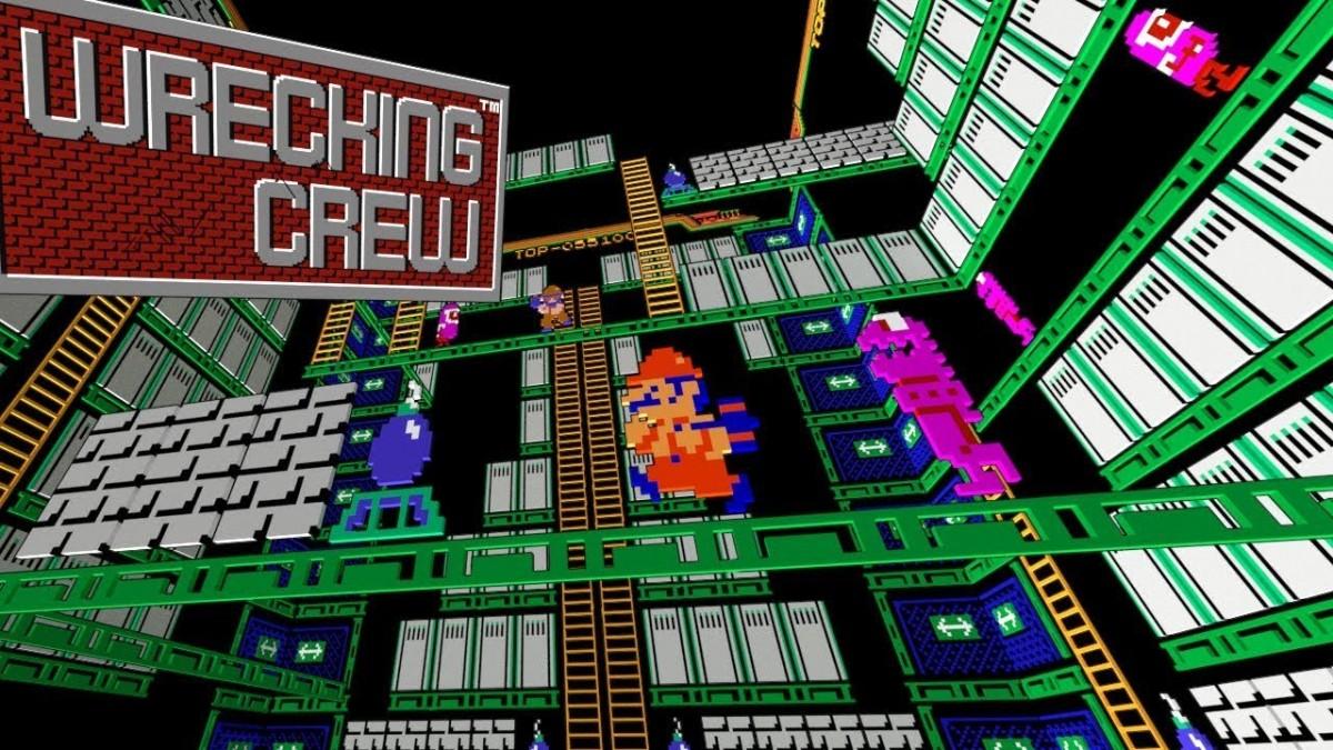 Wrecking Crew (Black Box NES game) James & Mike Mondays ...